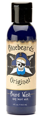 A photo of Bluebeard's beard wash.