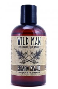 A photo of Wild Man Beard Wash.