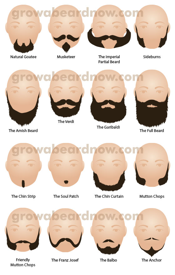 Popular Facial Hair Styles 2014